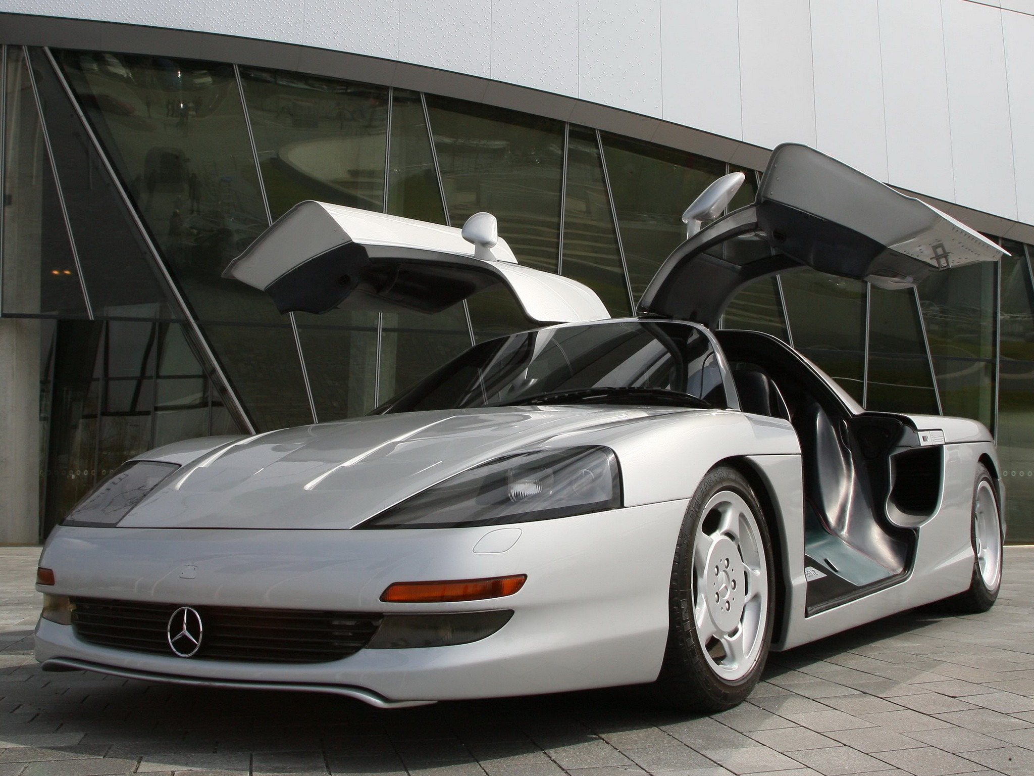 Mercedes Benz C112 Concept 1991 Old Concept Cars