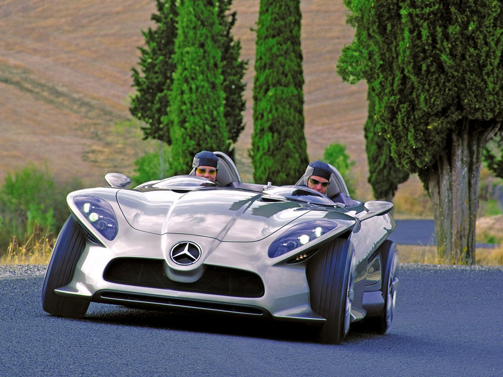 MercedesBenz F Carving Concept Old Concept Cars - Cool cars made in 2001