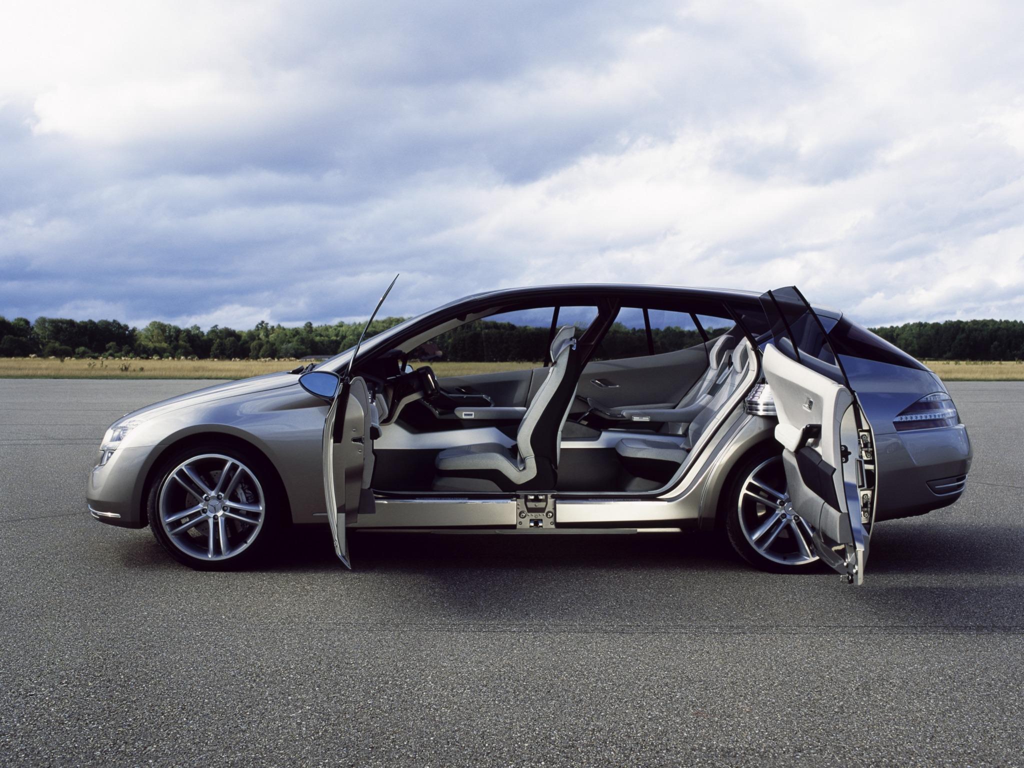 Mercedes benz f500 mind concept 2003 old concept cars for Mercedes benz concept