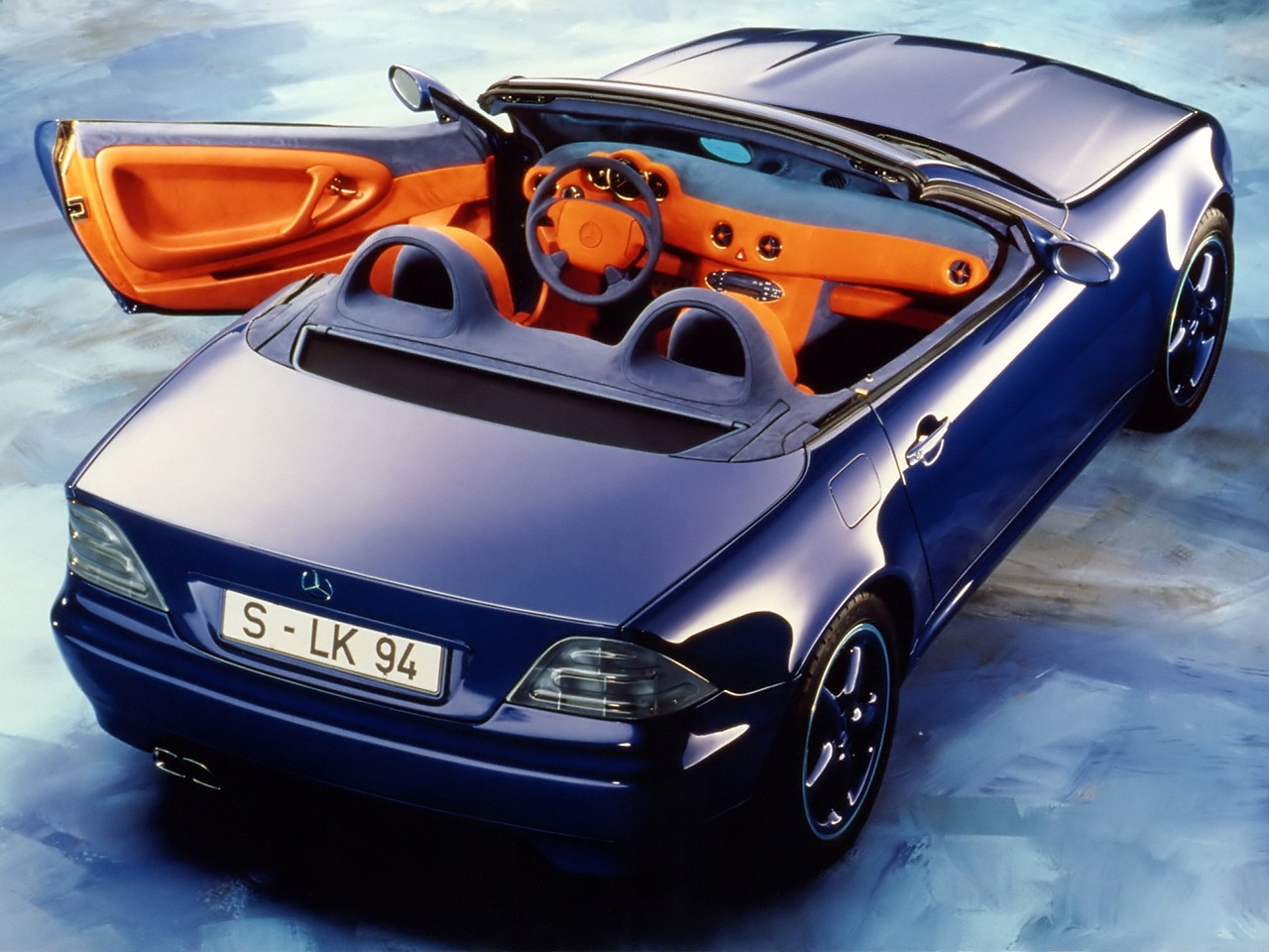 mercedes benz slk 2 concept 1994 old concept cars. Black Bedroom Furniture Sets. Home Design Ideas