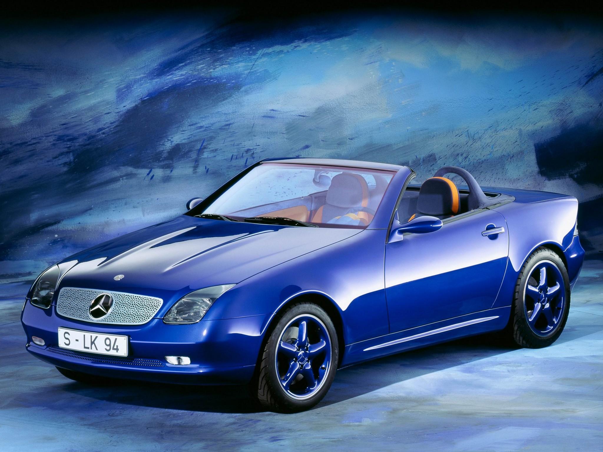 Mercedes Benz Slk 2 Concept 1994 Old Concept Cars
