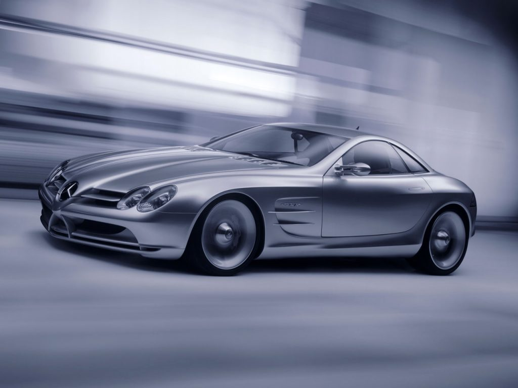 Mercedes-Benz Vision SLR Concept (C199) (1999)
