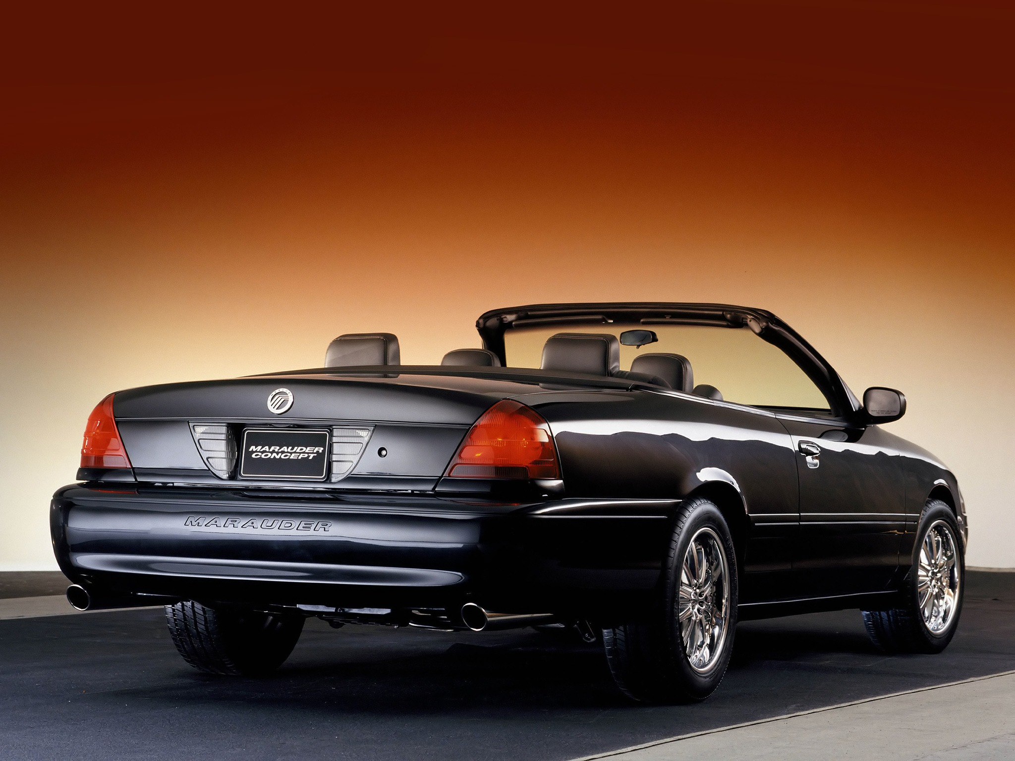 mercury marauder convertible concept 2002 old concept cars. Black Bedroom Furniture Sets. Home Design Ideas