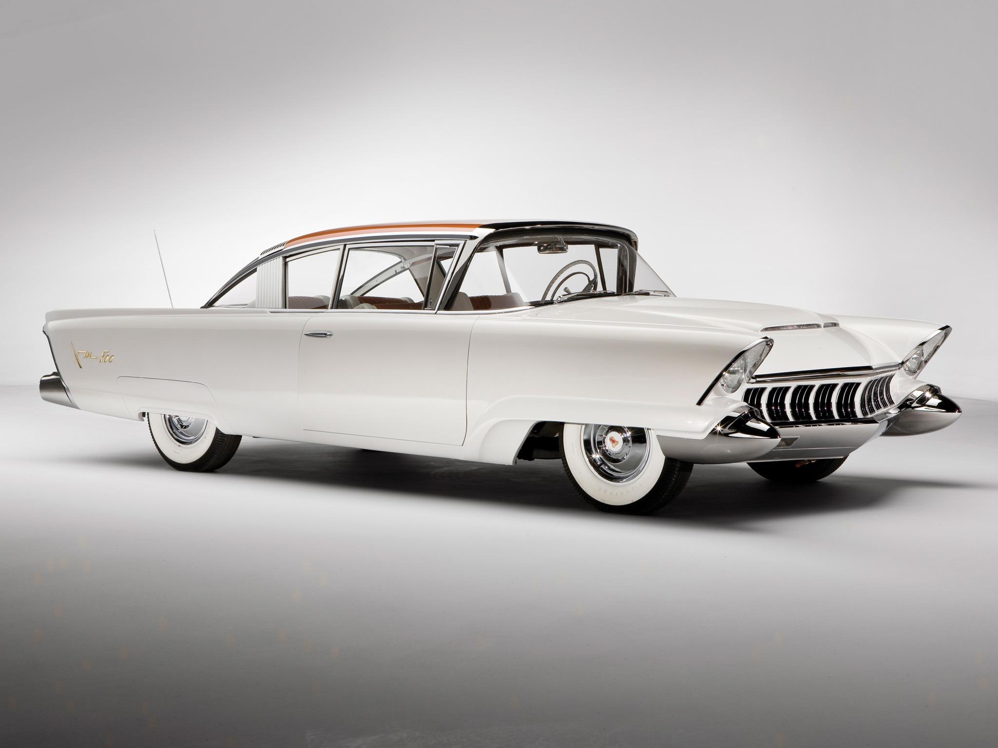 Mercury Monterey Xm 800 Concept Car 1954 Old Concept Cars