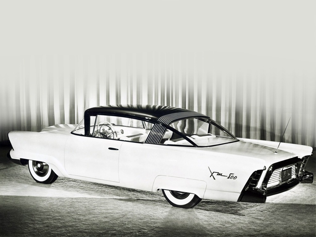 Mercury Monterey Xm 800 Concept Car 1954 Old Concept Cars