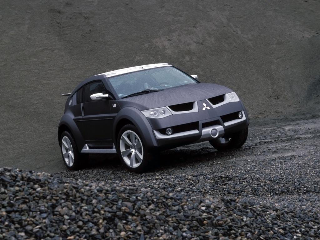 Mitsubishi Pajero/Montero Evolution Concept (2001)