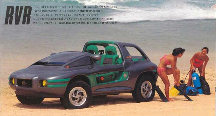 Mitsubishi Rvr Concept 1989 Old Concept Cars