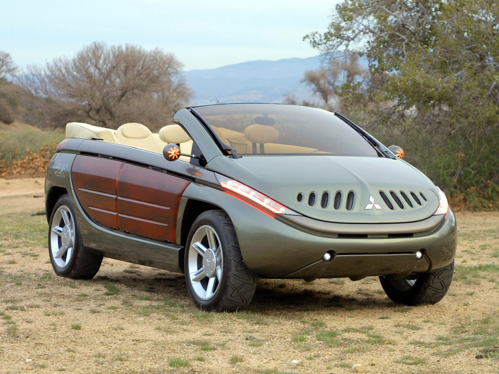 Mitsubishi S.U.P. Сonvertible Concept (2002)