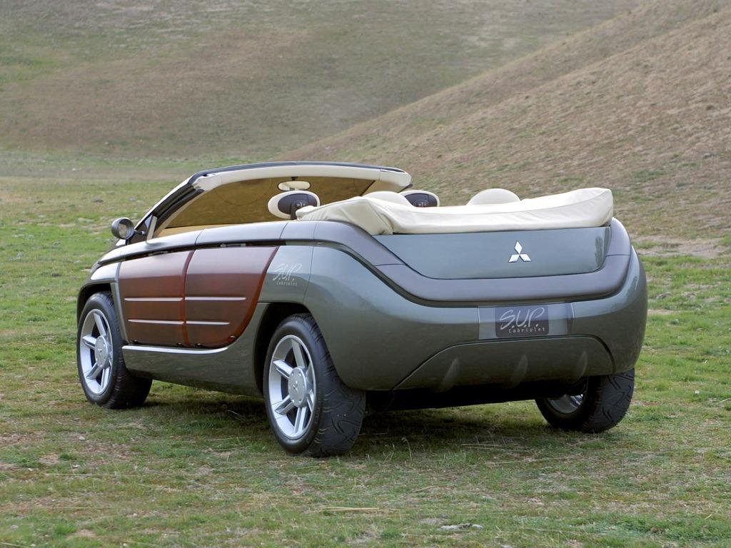 Mitsubishi S U P Сonvertible Concept 2002 Old Concept