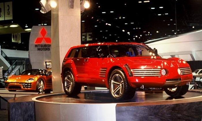 Mitsubishi Ssu Concept 1999 Old Concept Cars