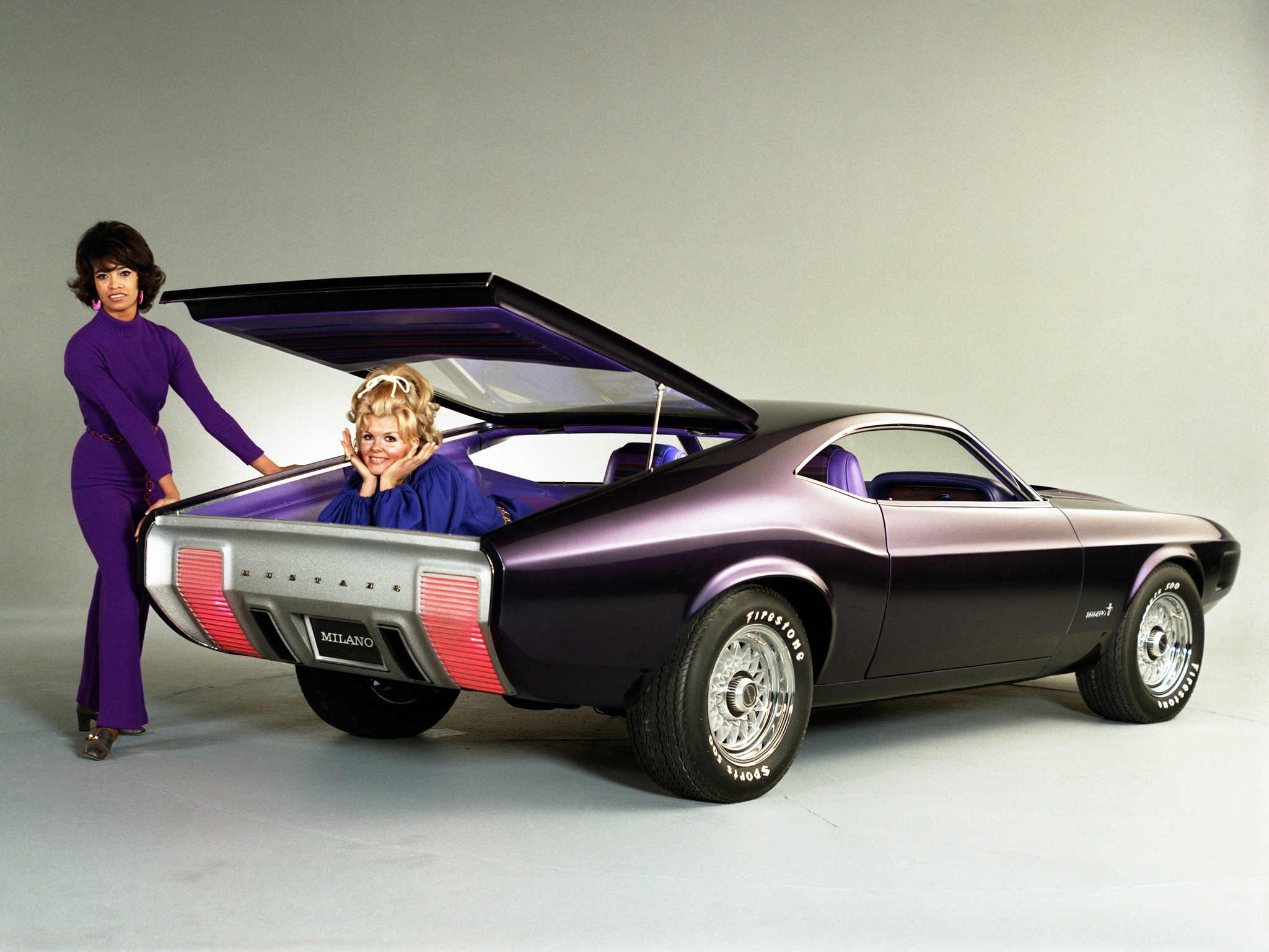 Mustang Milano Concept (1970) – Old Concept Cars