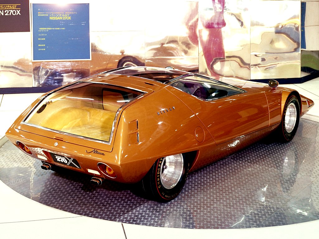 Nissan 270x Concept 1970 Old Concept Cars
