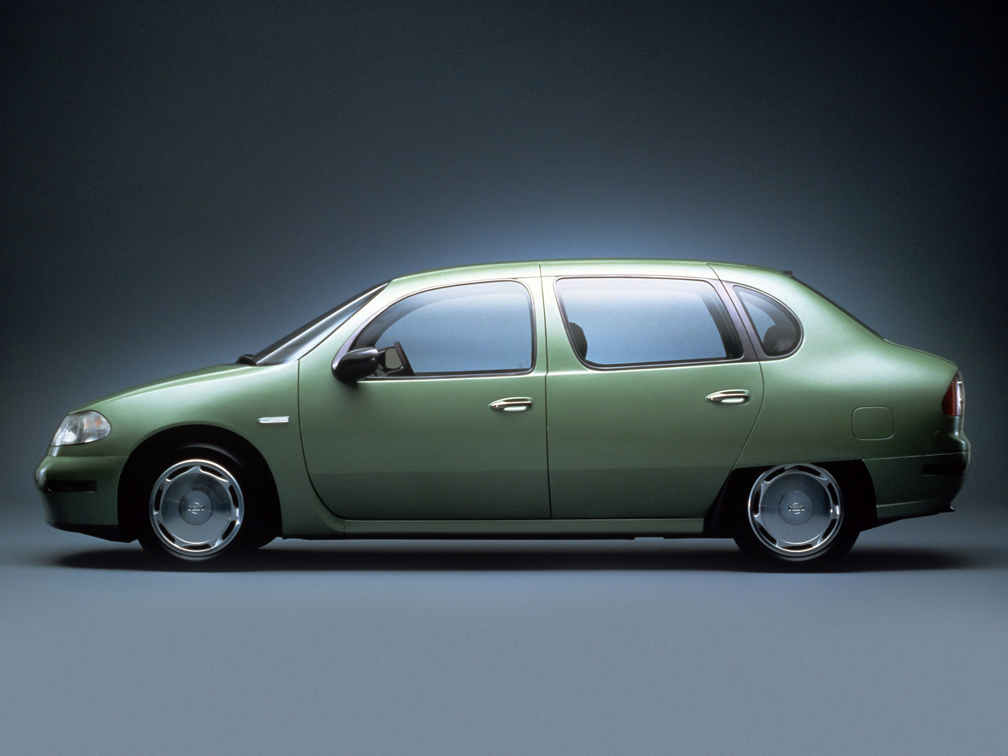 Nissan AQ-X Concept (1993) - Old Concept Cars