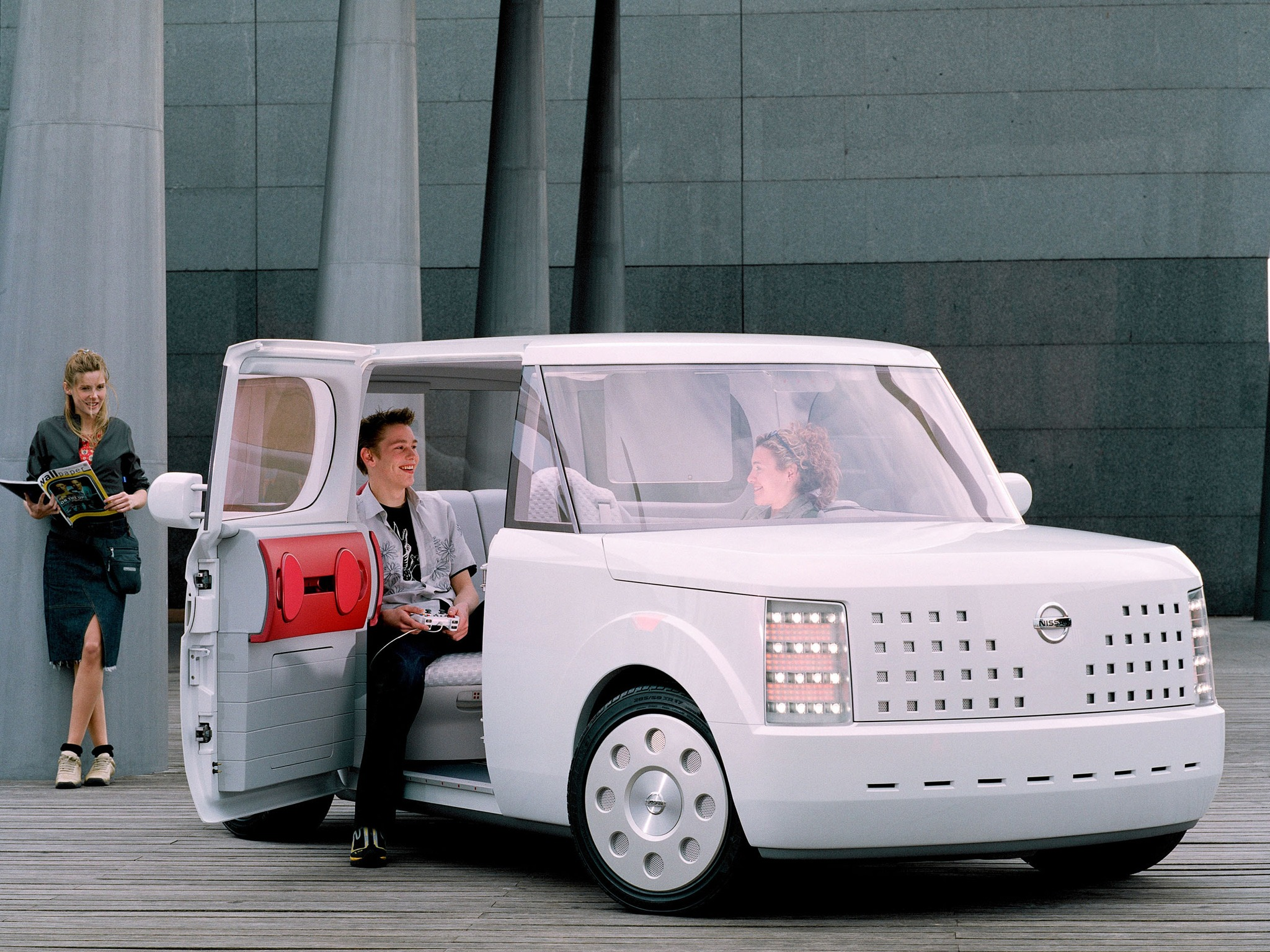 Top 10 Fastest Cars >> Nissan Chappo Concept (2001) - Old Concept Cars