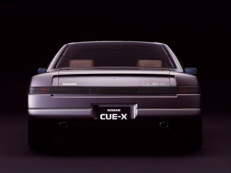 Nissan Cue X Concept 1985 Old Concept Cars