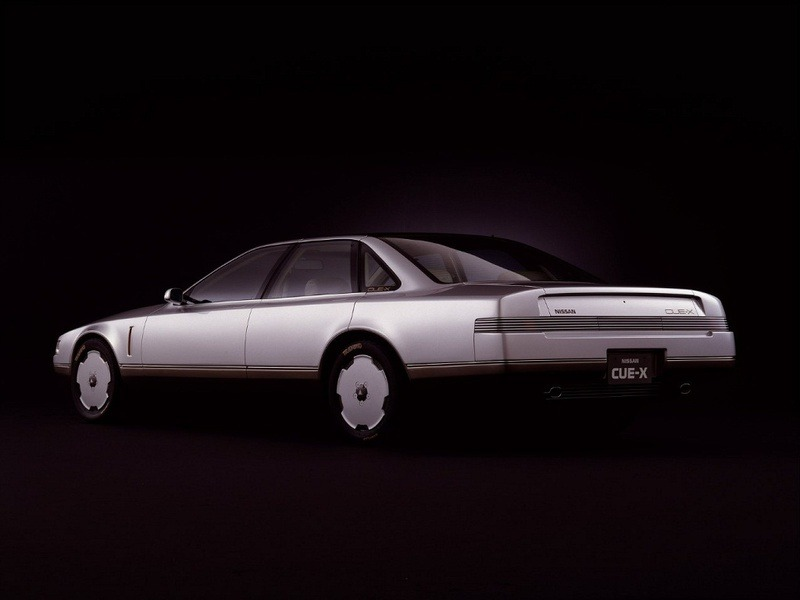 Ford Dealer Near Me >> Nissan CUE-X Concept (1985) - Old Concept Cars