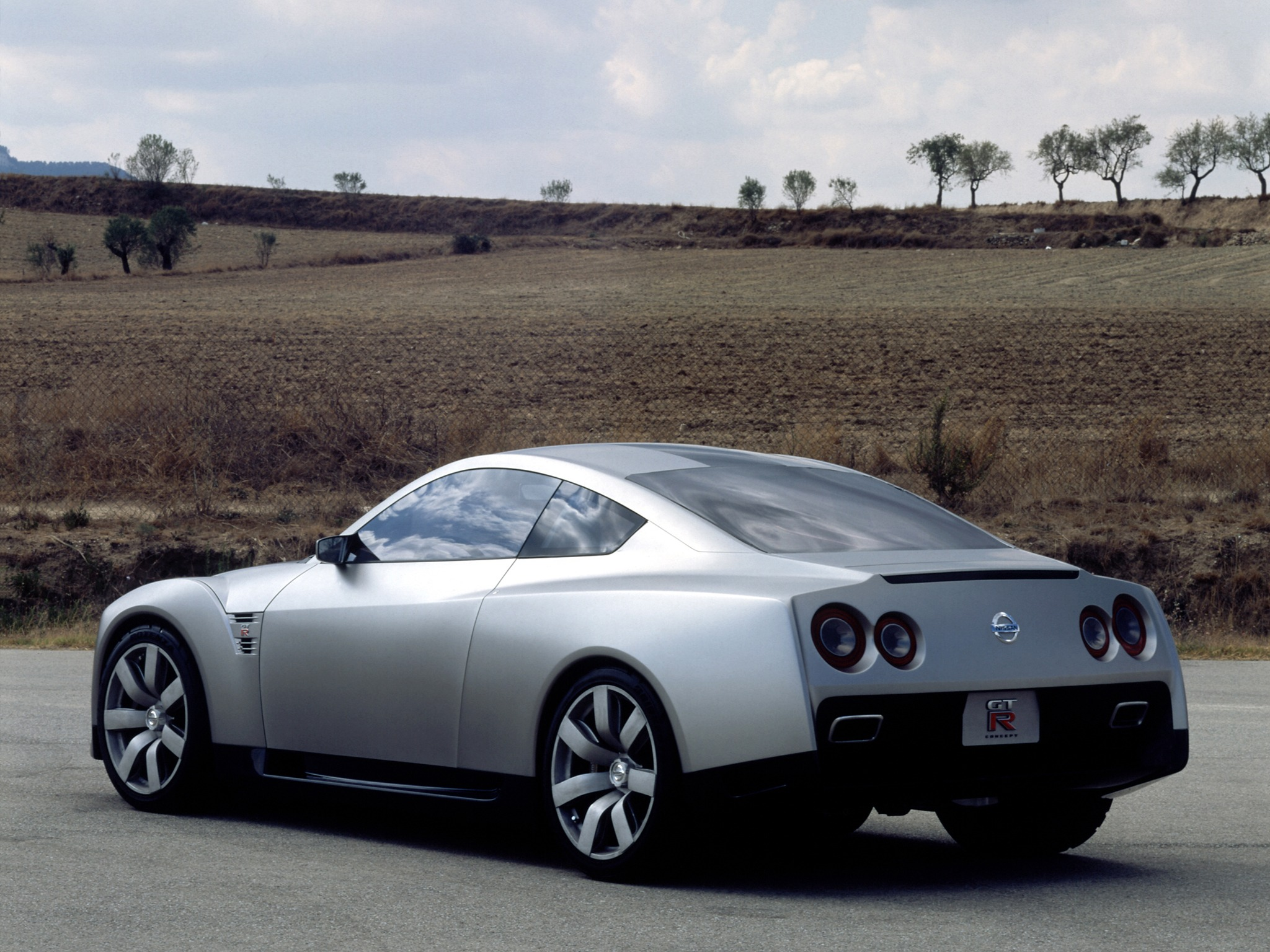 Nissan GT-R Proto Concept (2001) - Old Concept Cars