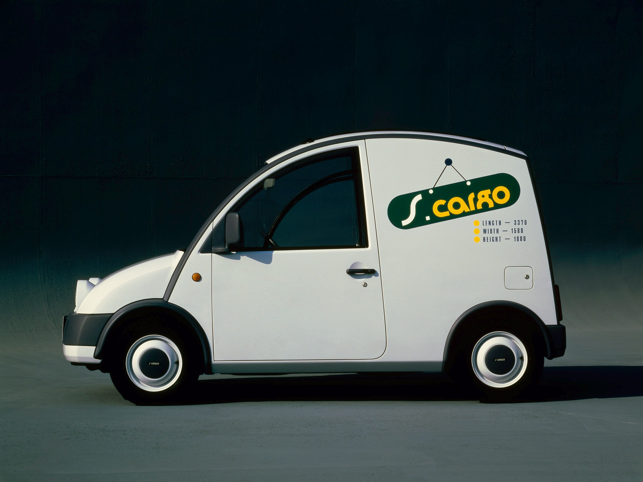 Volvo Near Me >> Nissan S-Cargo Concept (1987) - Old Concept Cars