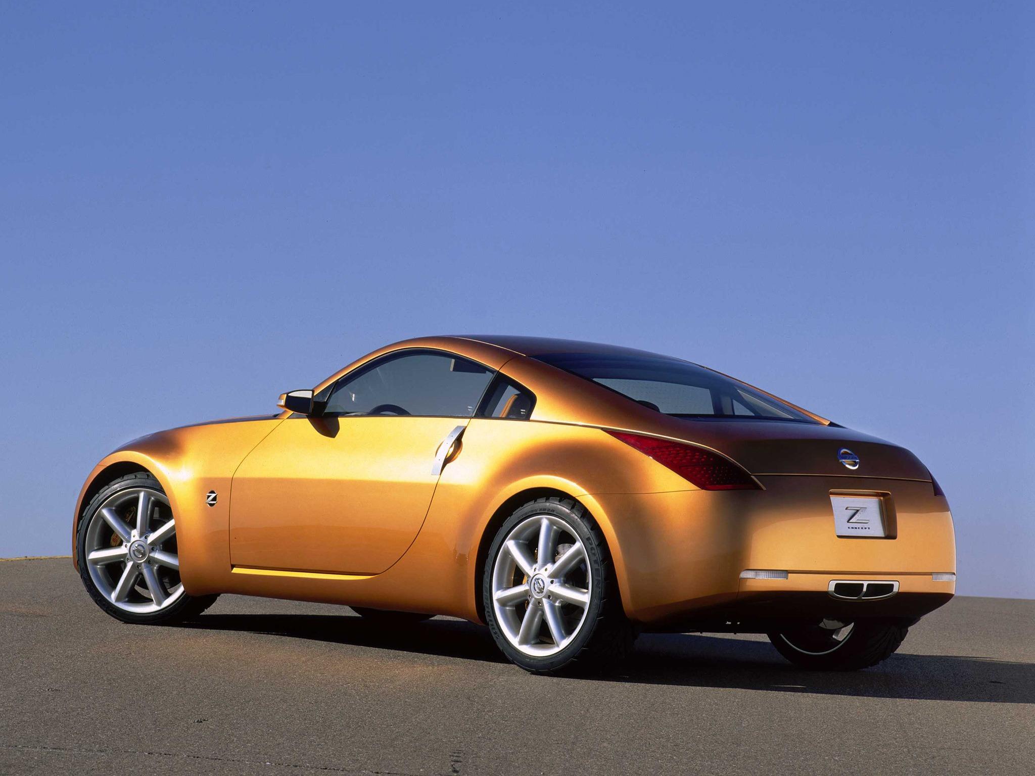 Nissan Z Concept 2001 Old Concept Cars