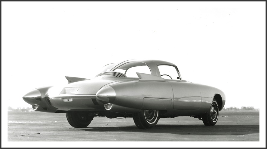 Oldsmobile Golden Rocket Concept Car 1956 Old Concept Cars