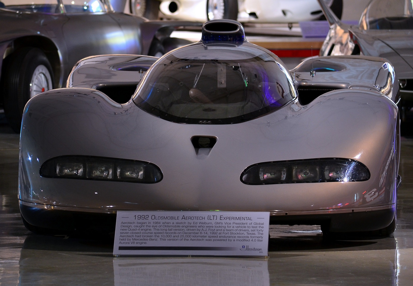 Oldsmobile Aerotech 1987 1992 Old Concept Cars