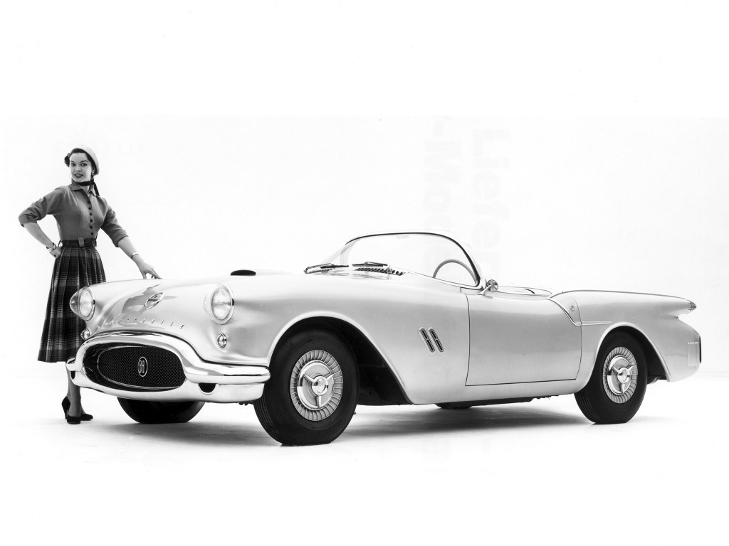 Oldsmobile F88 Concept Car 1954 Old Concept Cars