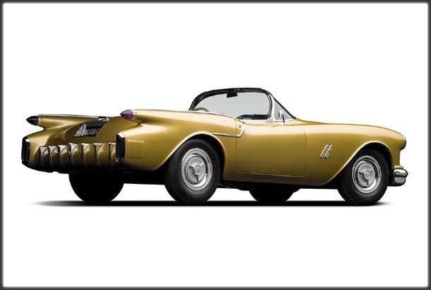 Subaru Near Me >> Oldsmobile F88 Concept Car (1954) - Old Concept Cars