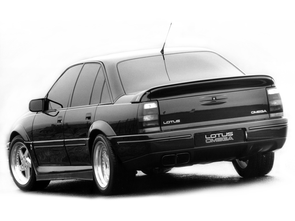 Opel Lotus Omega Prototype 1989 Old Concept Cars