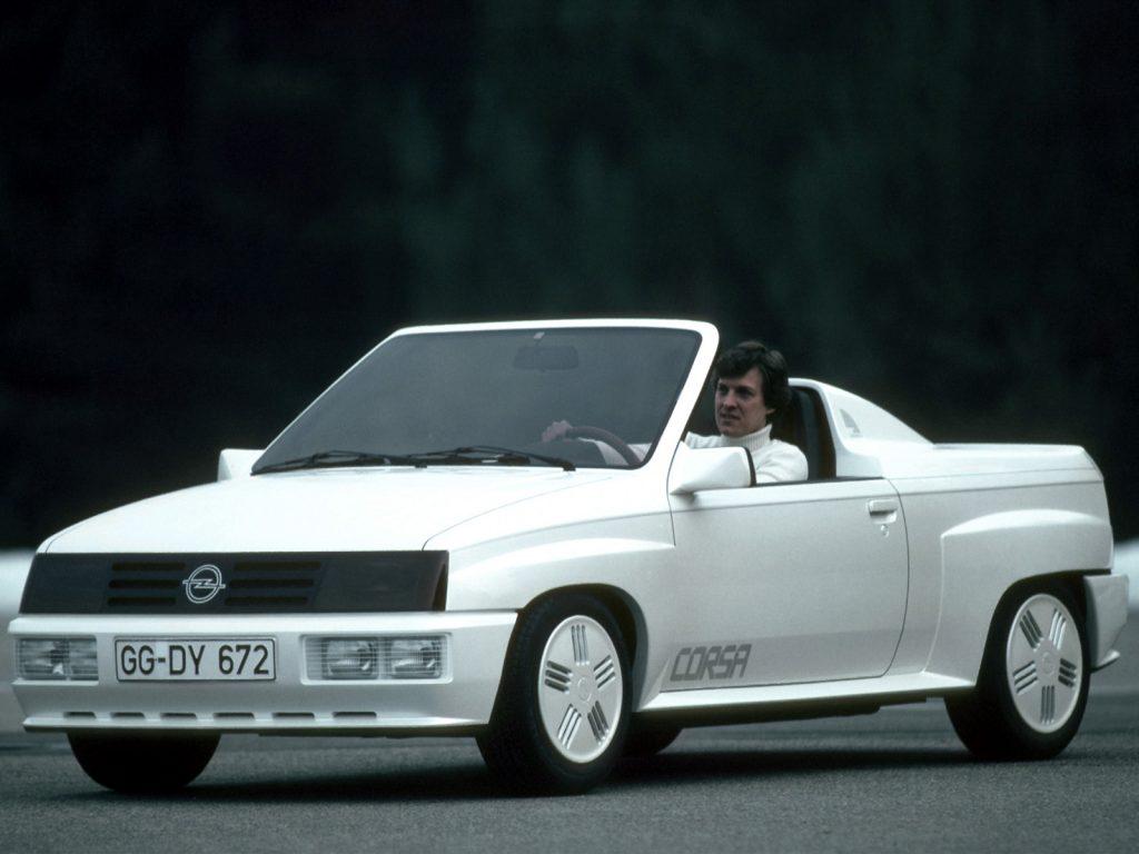 Opel Corsa Spider Concept (1982)