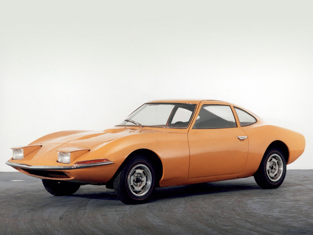 Opel Experimental Gt 1965 Old Concept Cars
