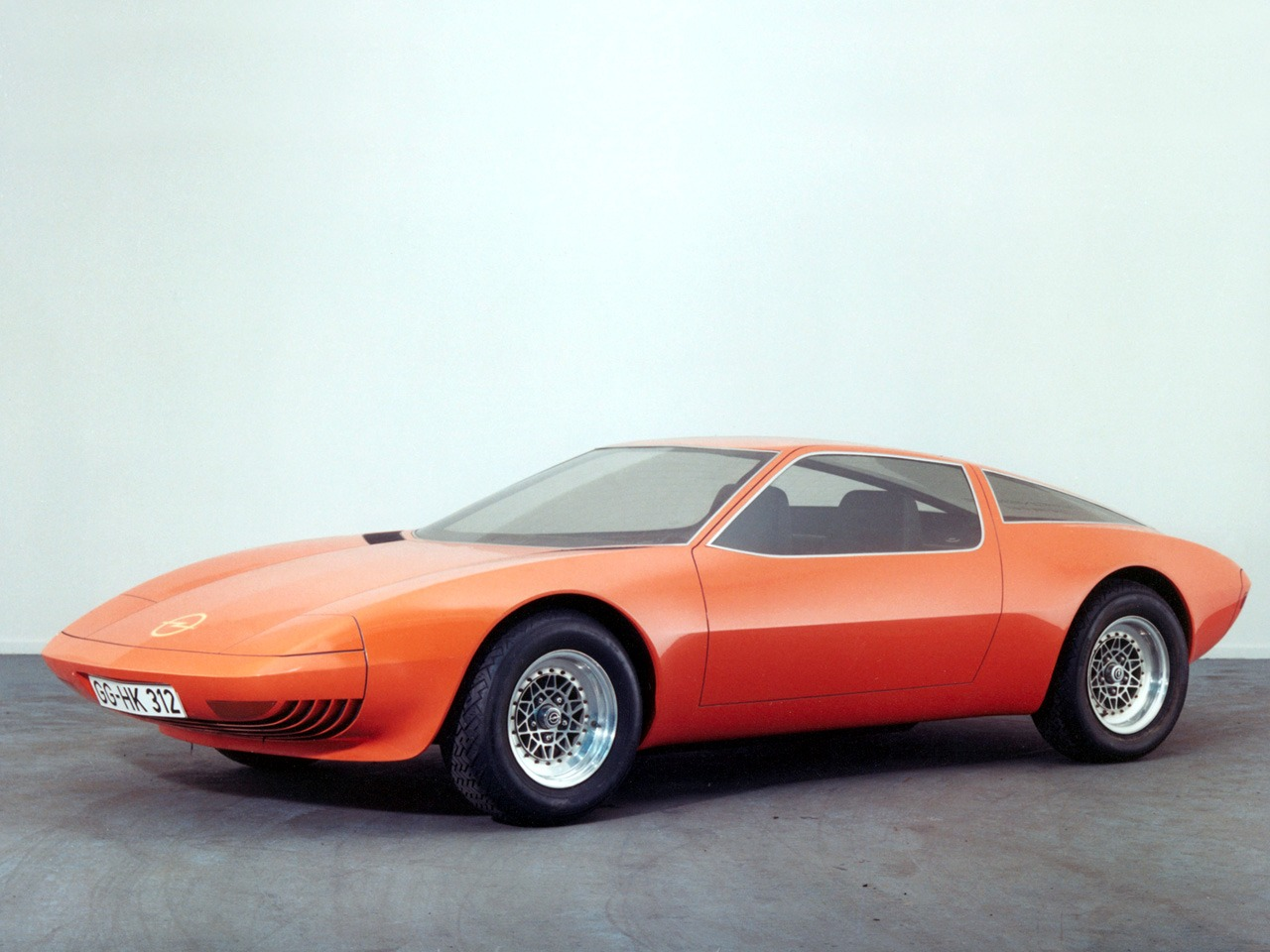 Opel Gt W Geneve Concept 1975 Old Concept Cars