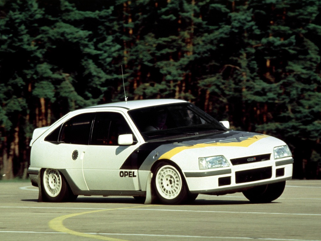 Opel Kadett Rallye 4×4 Gr.B (1985)