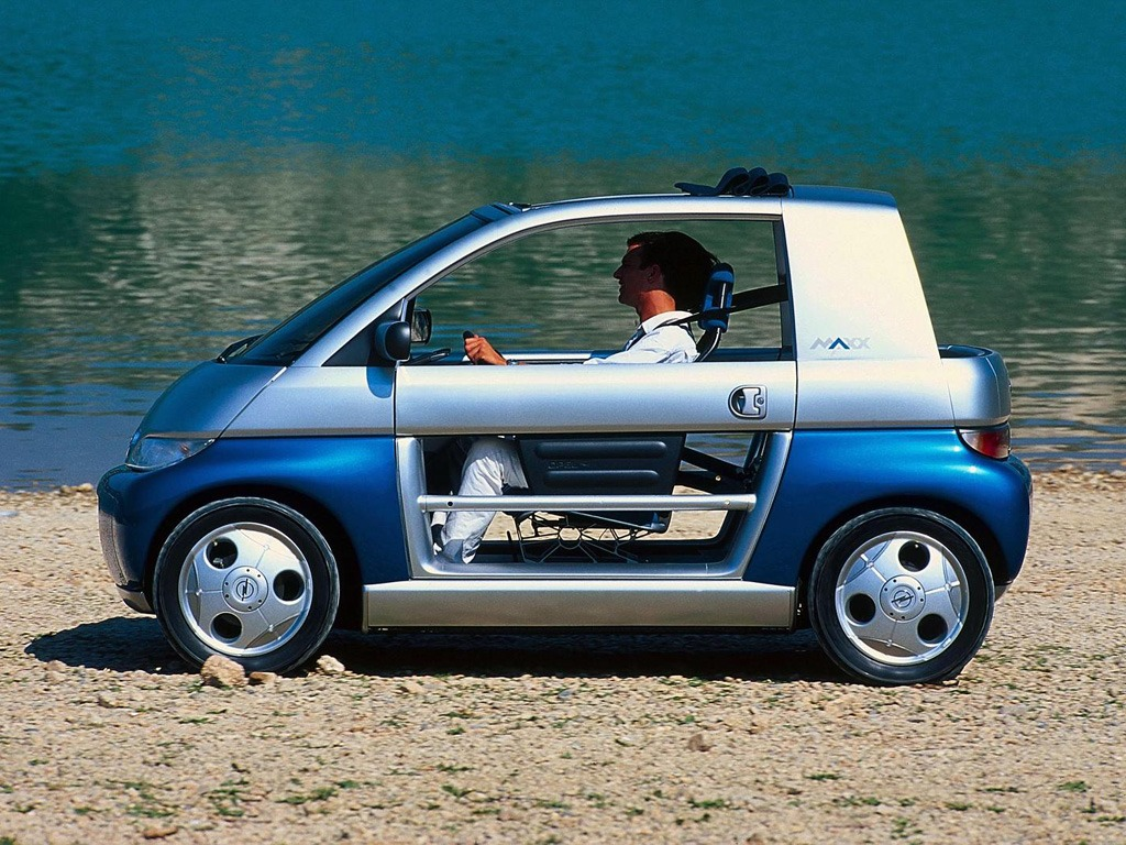 opel maxx concept 1995 old concept cars. Black Bedroom Furniture Sets. Home Design Ideas