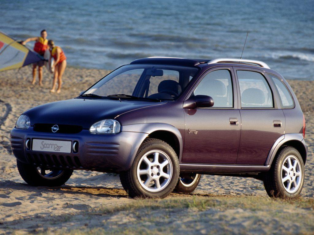 Opel Scamp II Concept (1994)