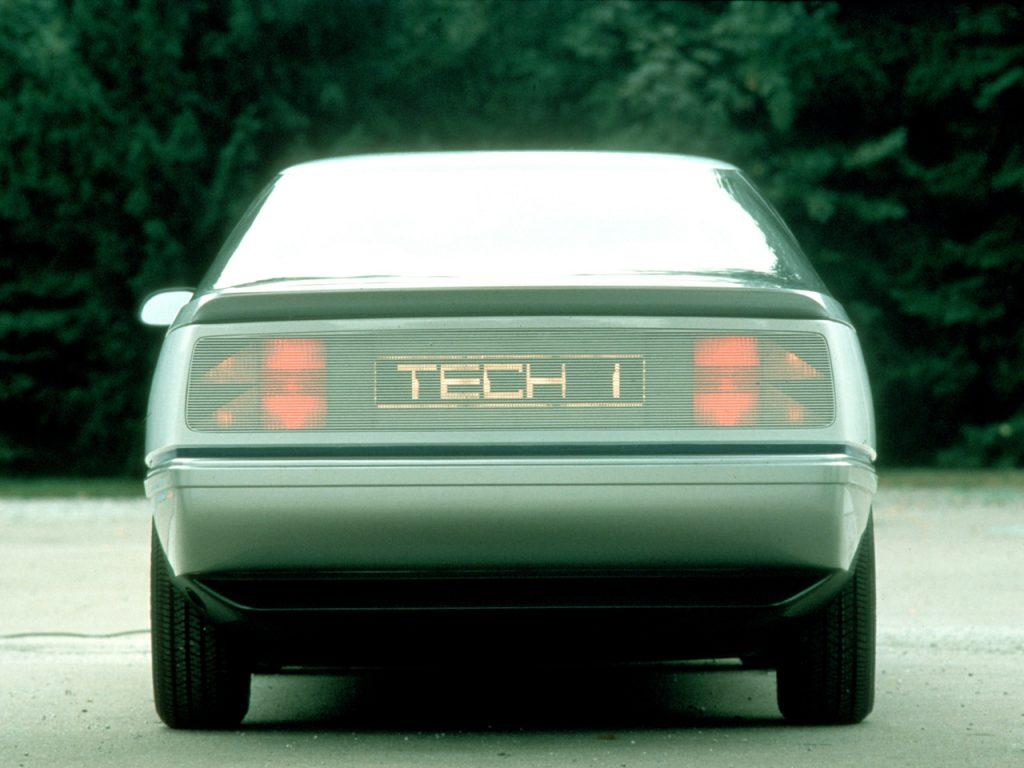 Opel Tech-1 Concept (1981)