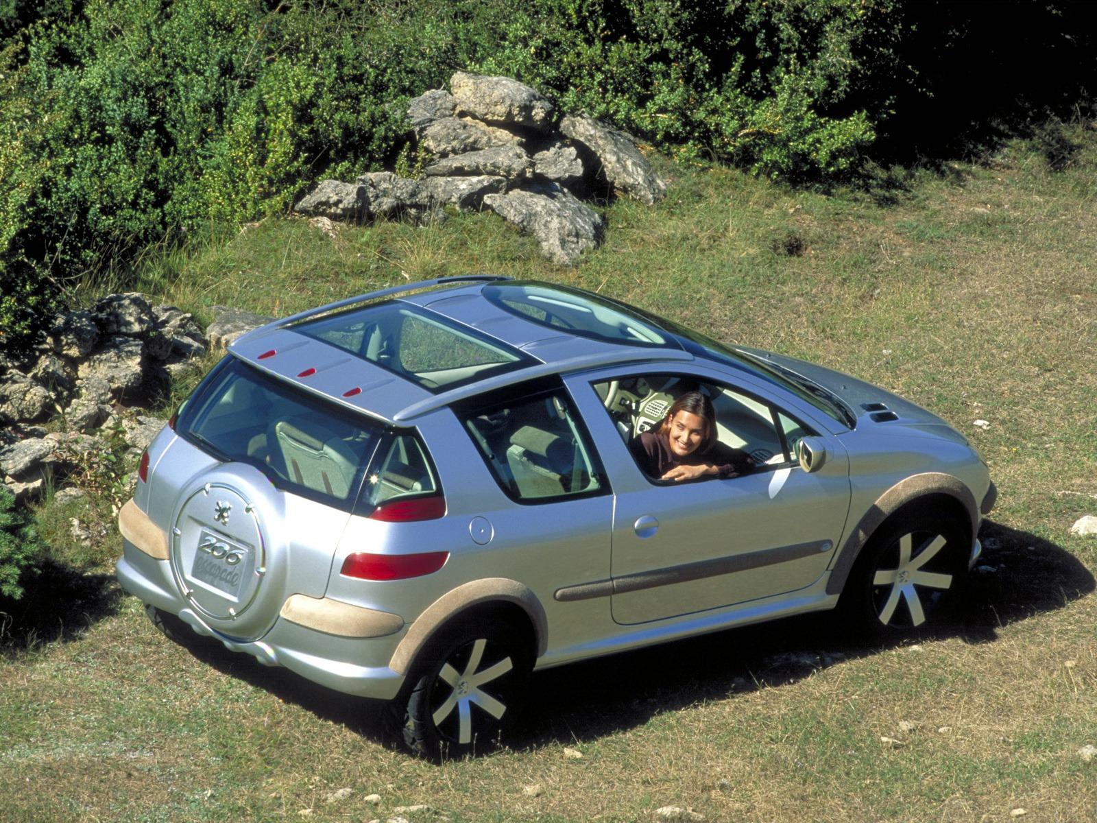 Subaru Dealer Near Me >> Peugeot 206 Escapade (1998) - Old Concept Cars