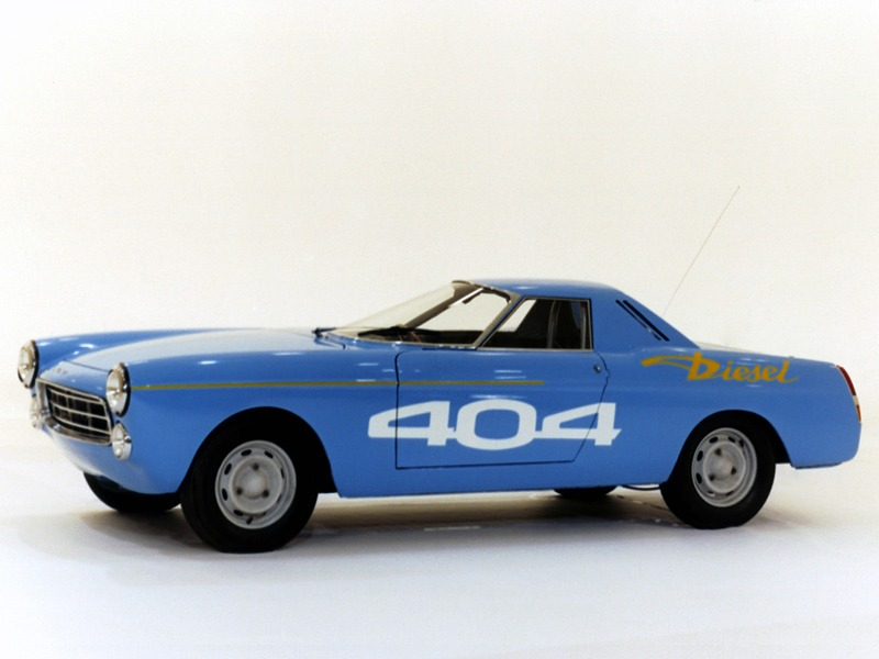 Peugeot 404 Diesel Record Car (1965) – Old Concept Cars