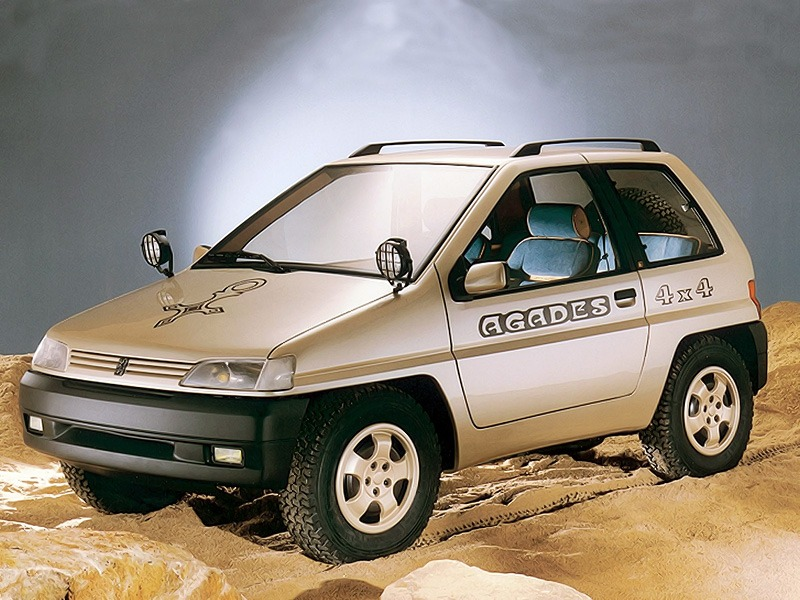 peugeot 4x4 agades 1989 old concept cars. Black Bedroom Furniture Sets. Home Design Ideas