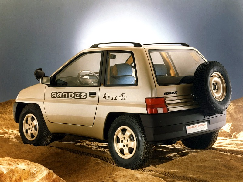 Top 5 Fastest Cars >> Peugeot 4×4 Agades (1989) - Old Concept Cars