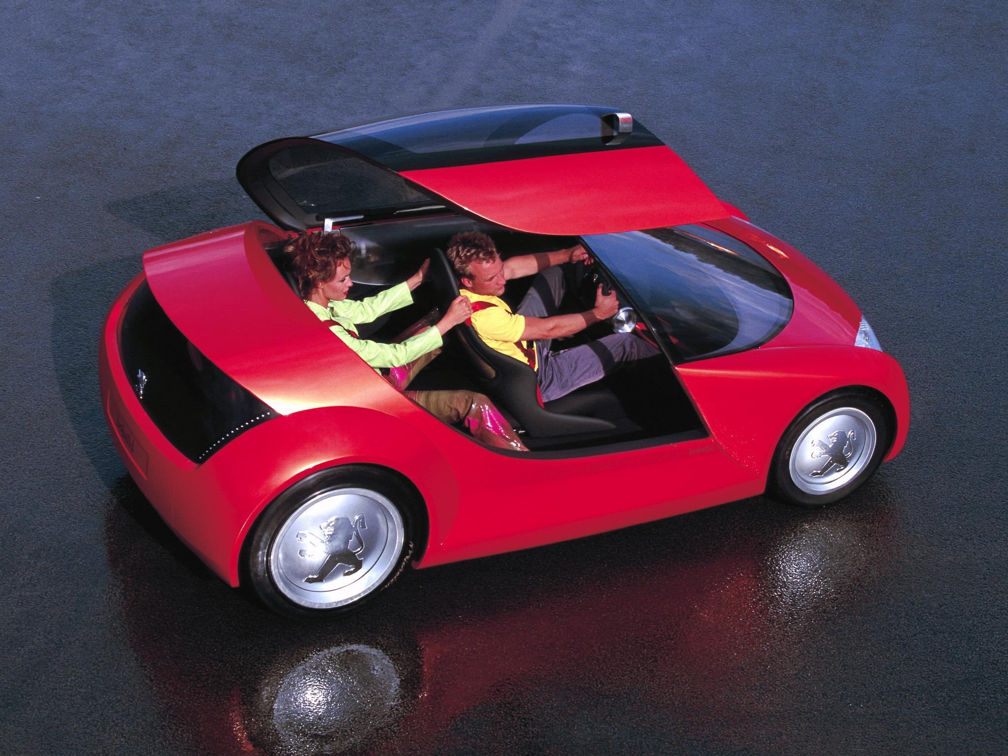 Top 10 Fastest Cars >> Peugeot Bobslid (2000) - Old Concept Cars