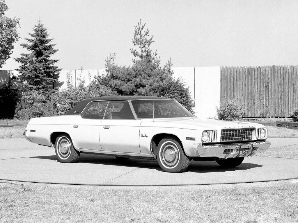 Plymouth Gran Fury Brougham Hardtop Sedan Prototype (1975)