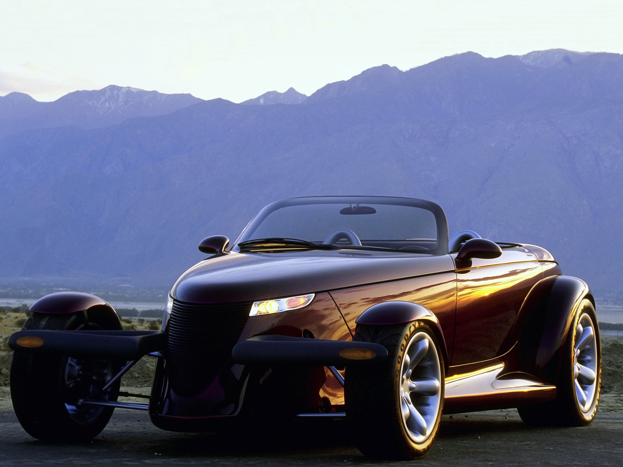 Antique Design Plymouth Prowler Concept 1993 Old Concept Cars