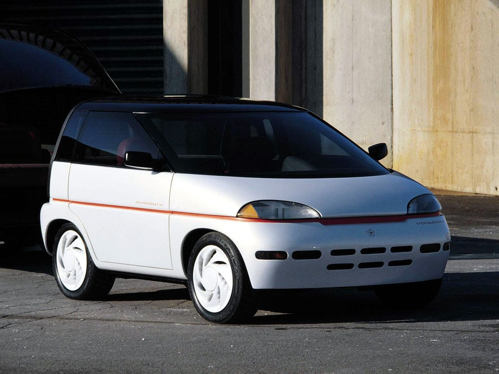 Top 10 Fastest Cars >> Plymouth Voyager III Concept (1989) - Old Concept Cars