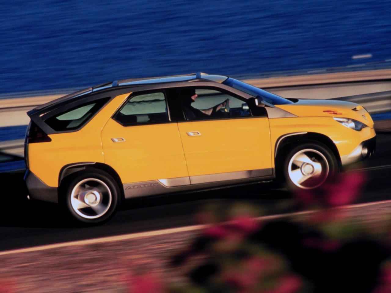 First Team Toyota >> Pontiac Aztek Concept (1999) - Old Concept Cars