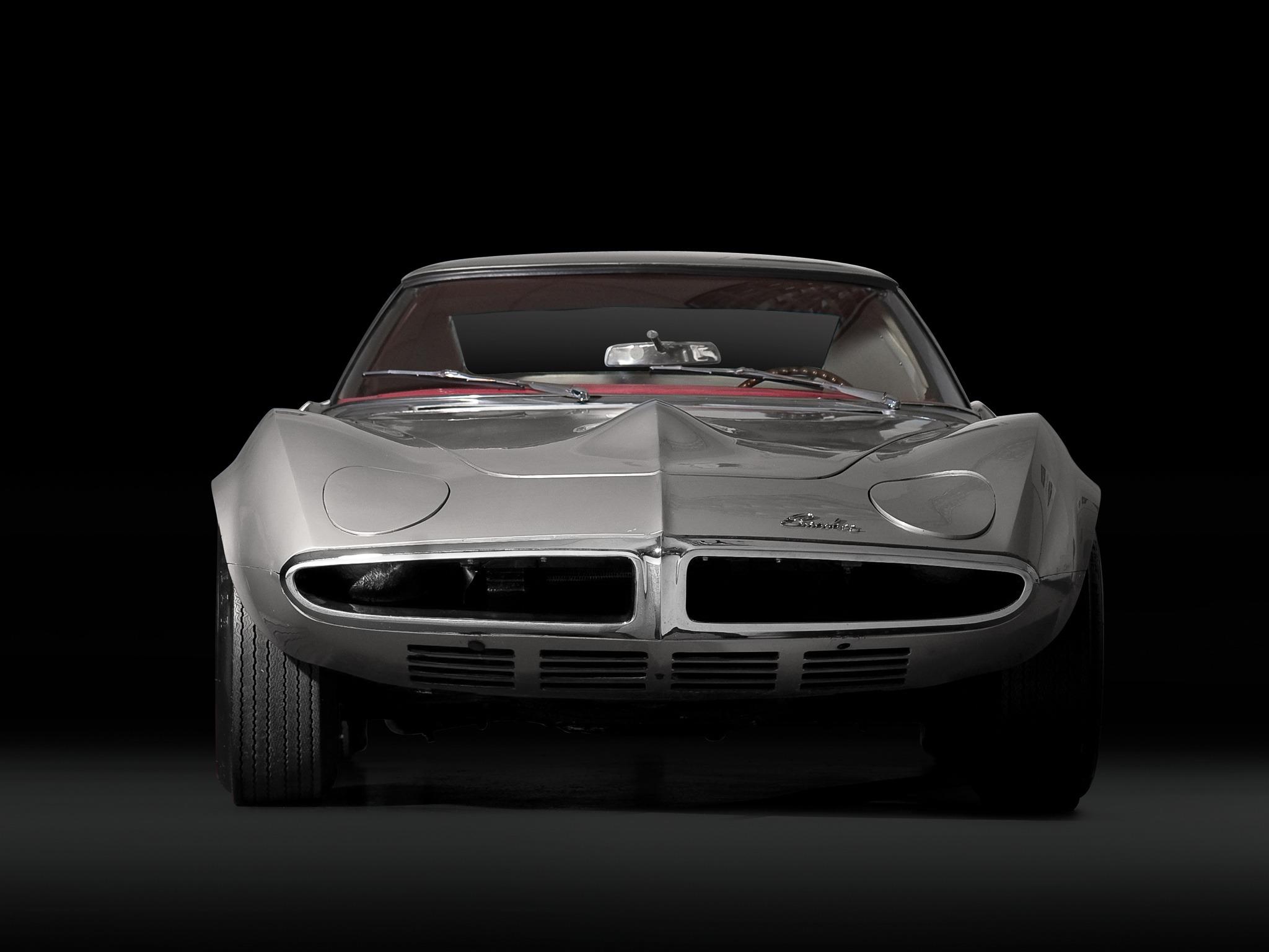 Pontiac Banshee Concept Car 1964 Old Concept Cars