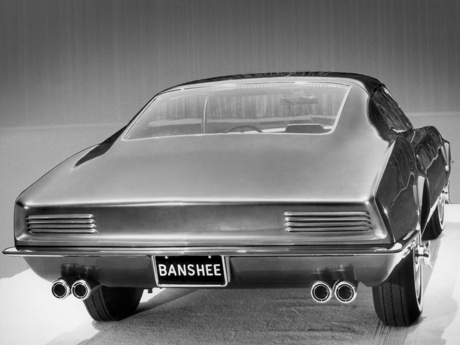 How To Flip Cars >> Pontiac Banshee XP-798 Concept Car (1966) - Old Concept Cars