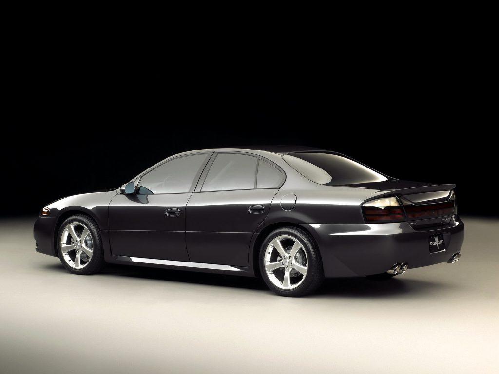 Pontiac Bonneville GXP Concept (2002)