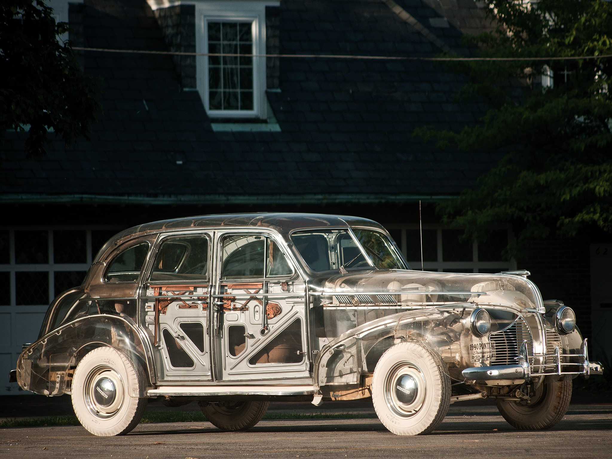 Pontiac Deluxe Six Transparent Car 1940 Old Concept Cars