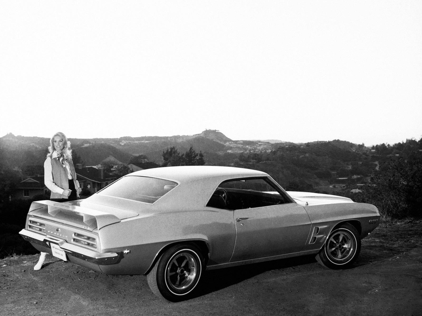 Pontiac Firebird Trans Am Prototype 1969 Old Concept Cars