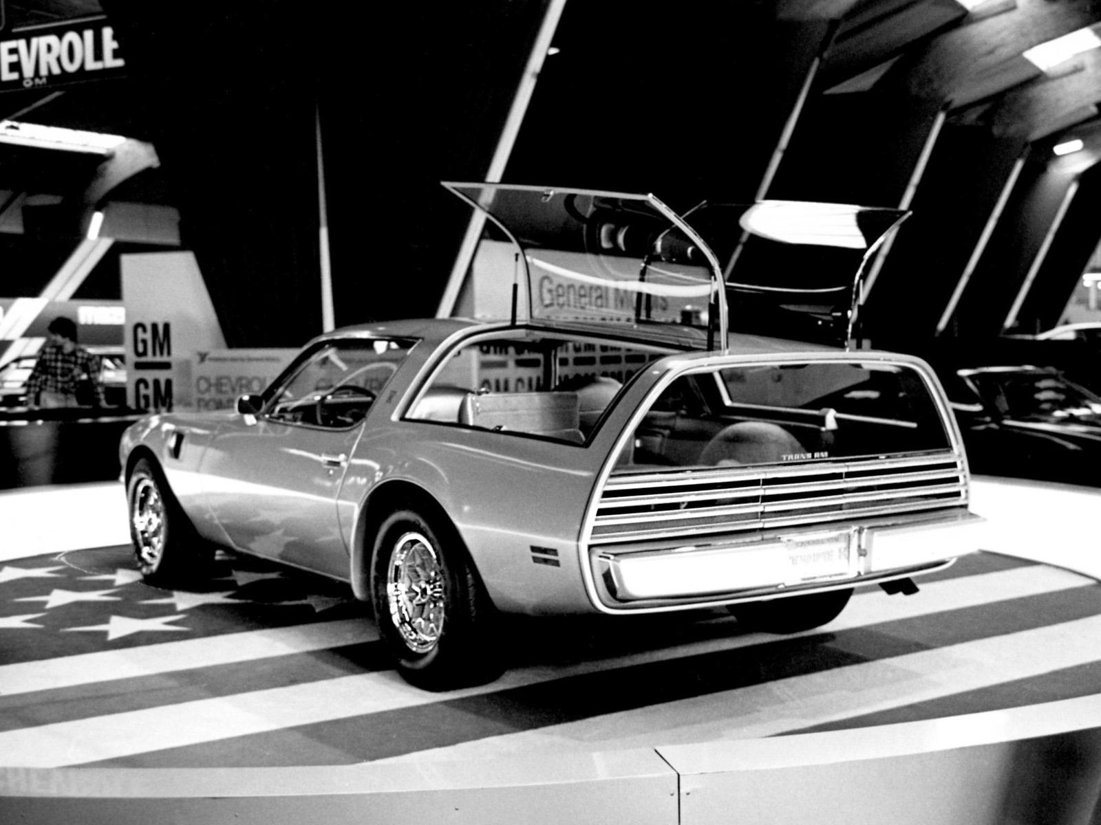 Pontiac Firebird Trans Am Type K Concept (1977) – Old Concept Cars